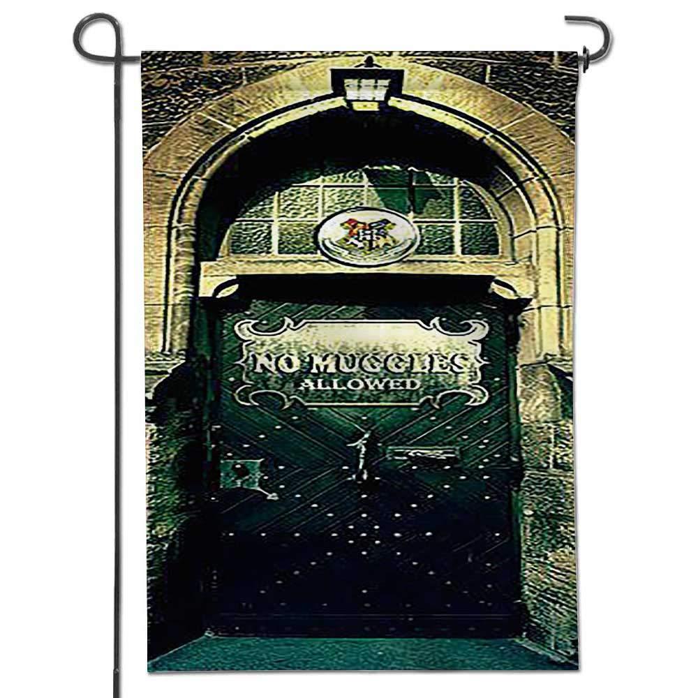 "Jiahonghome Seasonal Garden Flag Decals Stickers Fridge Sticker Harry Potter Decal Mural car Vinyl Double Sided Weatherproof Flags24 x 36"""