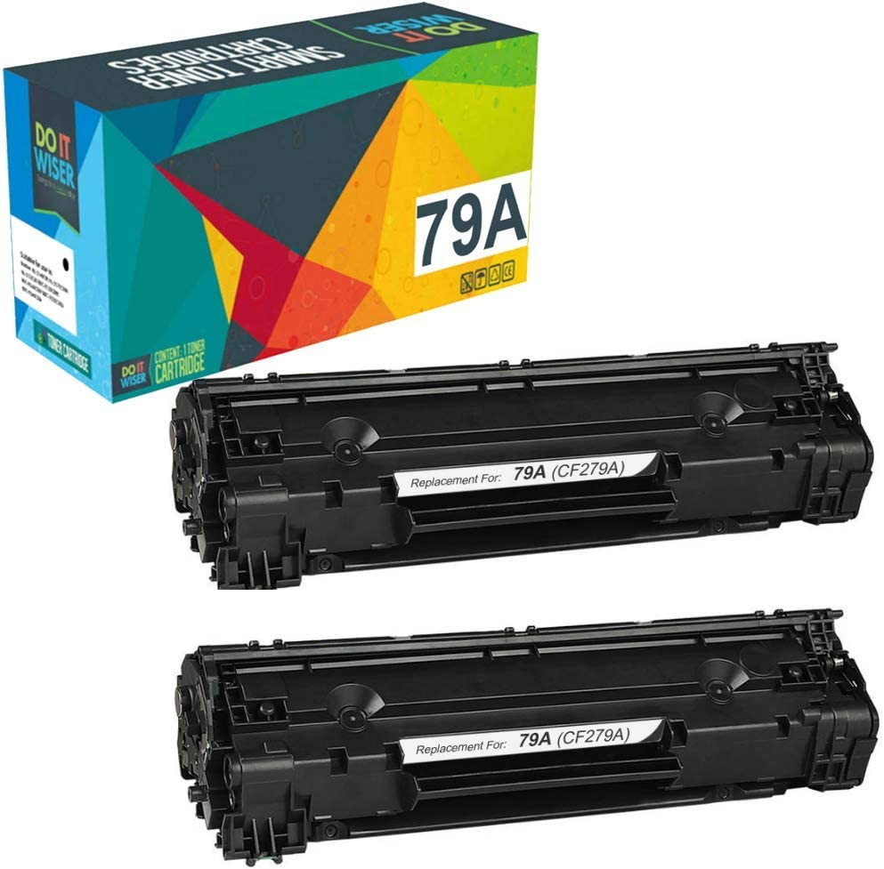 Do it Wiser Compatible Toner Cartridge Replacement for HP 79A CF279A for use in HP Laserjet Pro MFP M26nw M12w M12a MFP M26a MFP M26w (Black, 2-Pack)