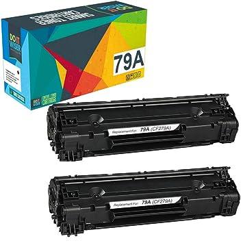 Do it Wiser 2 Cartuchos de tóner CF279A 79A Compatibles con HP ...