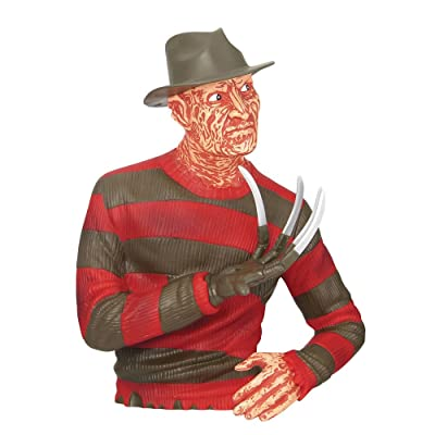 Warner Bros. Freddy Kreuger Collectible Bust Bank: Toys & Games