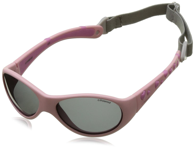 Polaroid - Gafas de sol Rectangulares P0402 para niños