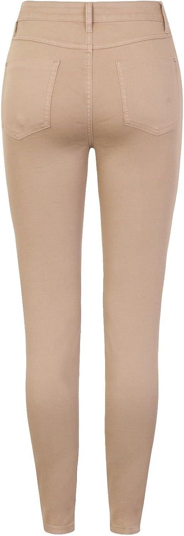 Women/'s Skinny Denim Jeans Ladies Ex Branded Slim