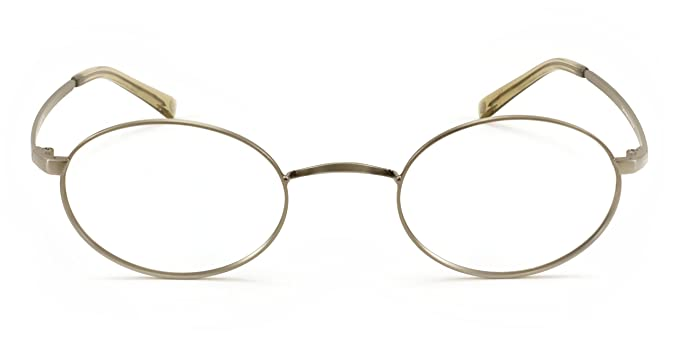 Amazon.com: John Lennon Cambridge Eyeglass Frame - Antique Pewter ...