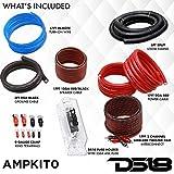 DS18 AMPKIT8 8 Gauge Amp Kit Amplifier Install
