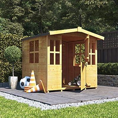 Mad-Dash-4x4-BillyOh-Bunny-Children-Wooden-Playhouse-Outdoor-Playground-4ft-x-4ft