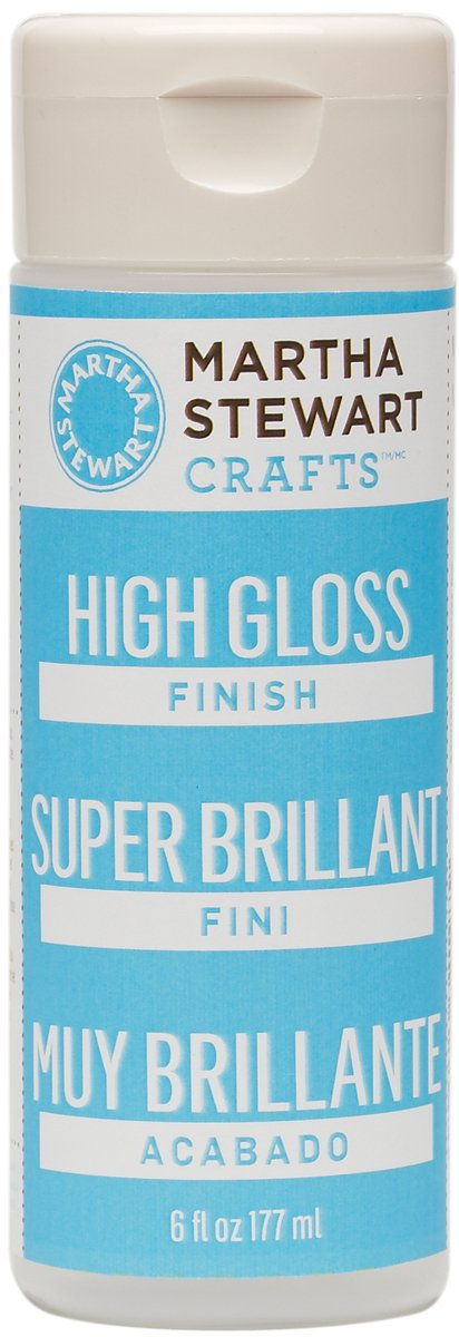 Martha Stewart High-Gloss Finish: 6 Fluid Oz