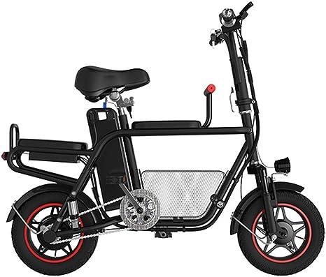 E-Bike para Adultos 48V 13AH Bicicleta Eléctrica Plegable, 580W Potencia del Motor, Bicicleta Eléctrica con Pedales de Bici, Capacidad de Carga 140Kg (Rango de Crucero: 65 km) Negro: Amazon.es: Deportes y aire