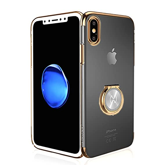 iphone xs max clear magnetic case