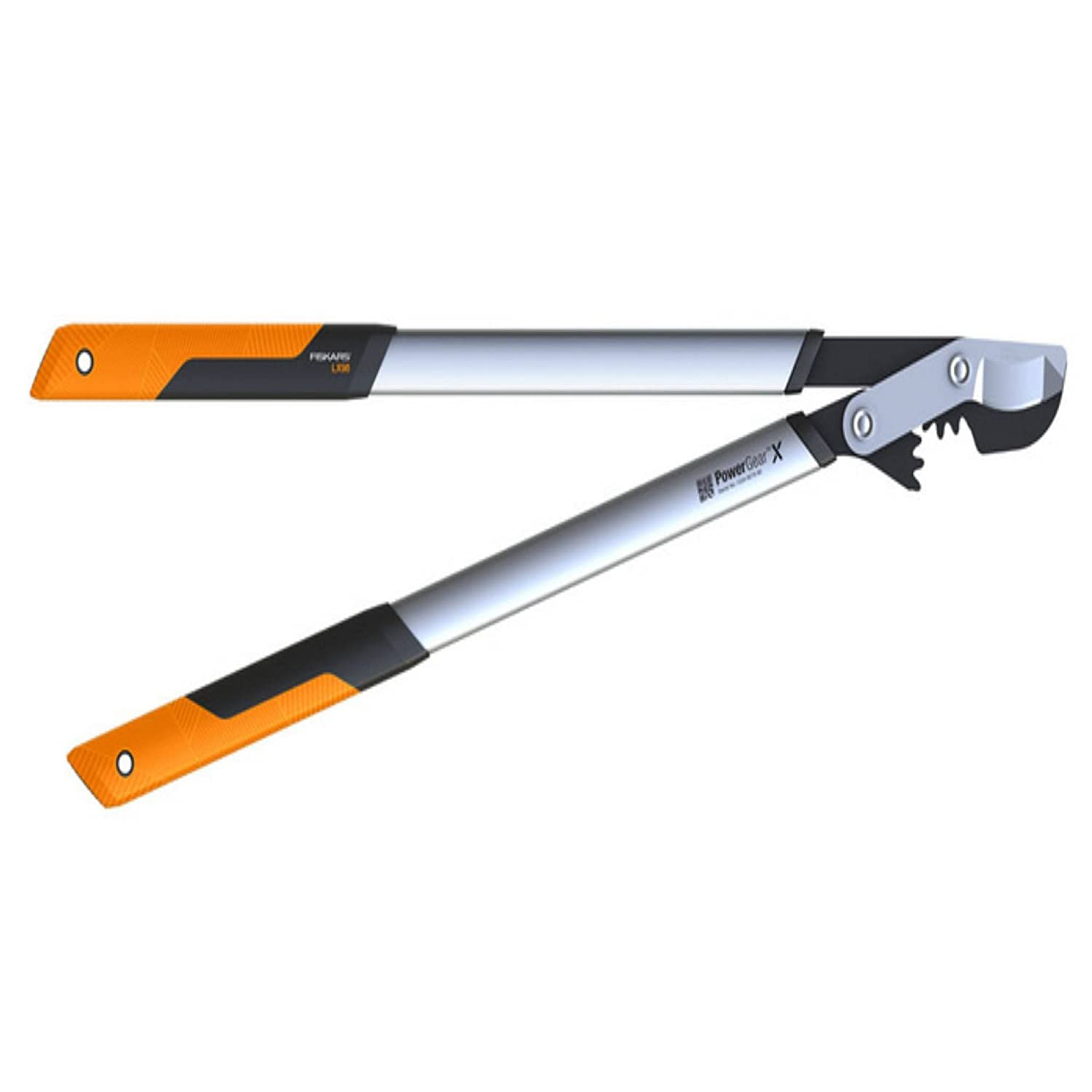 Fiskars PowerGear X Lopper Anvil L LX99, Size L, Cutting diameter: 5.5 cm, Non-stick coating, Hardened steel, Length: 80 cm, Black/Orange, 1020189