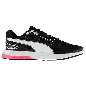 Puma Escaper Tech Running Shoes Womens Black White Run Jogging Trainers  Sneakers (UK4) 206e1e058