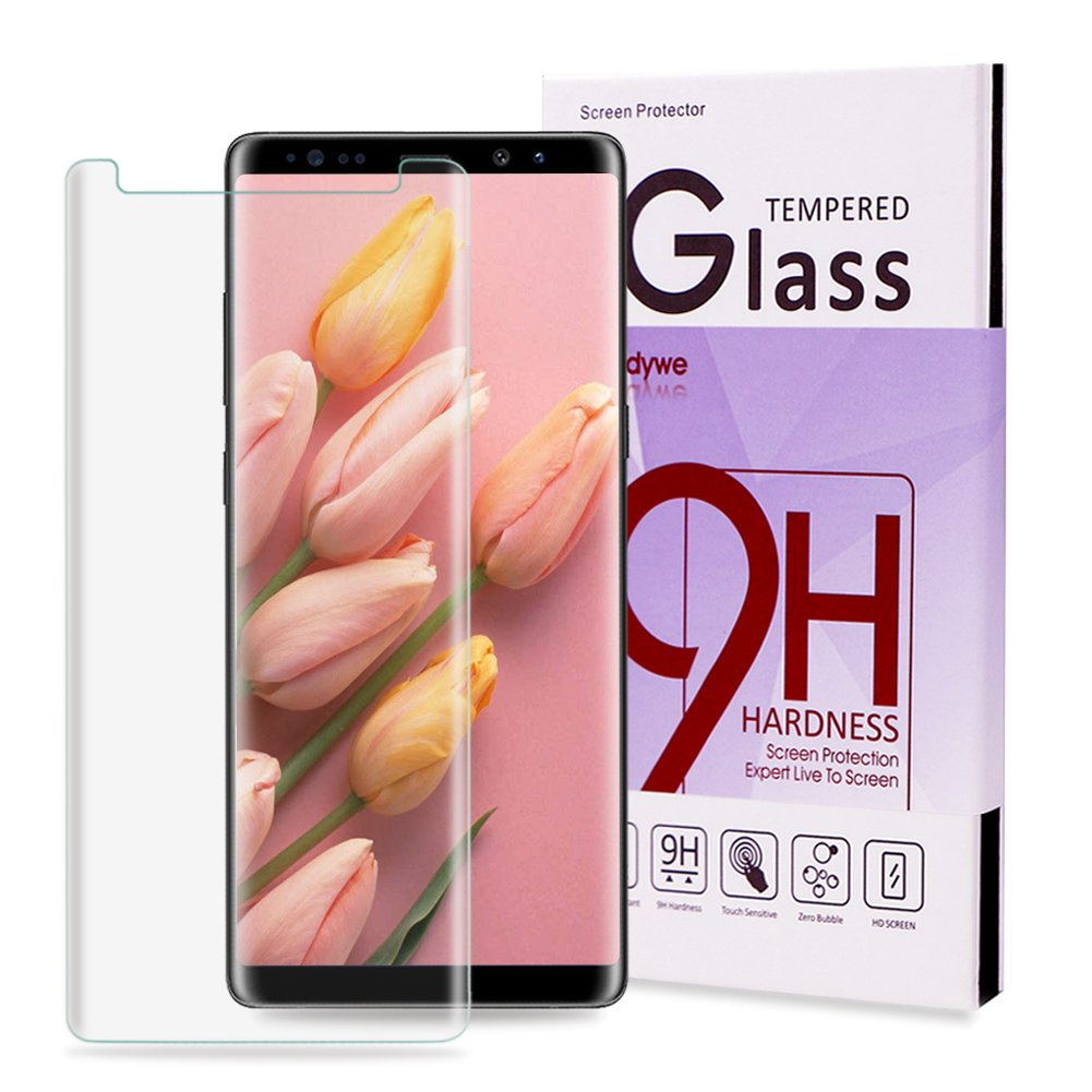 Samsung Note 8 Screen Protector,Galaxy Samsung Note 8 Tempered Glass,Candywe HD Clear Anti Bubble Glass Screen Protector for Galaxy Note 8[Case Friendly]
