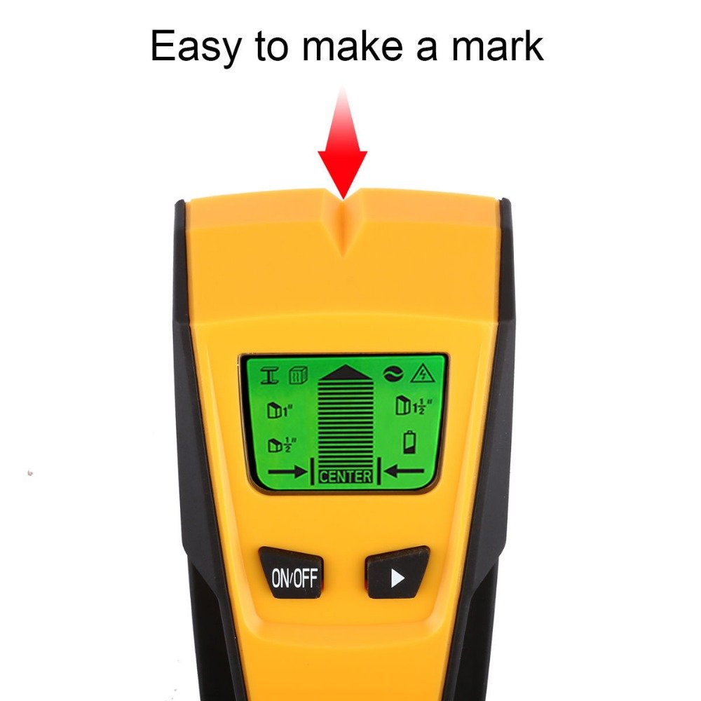 Stud Finder Wall finder,Vishm Multi Function 3 in 1 Stud Center Finder Wire Finder With LCD Screen for Stud/AC Wire/Metal/Pipe/Wood Searching Tool - Cheap,Reliable,