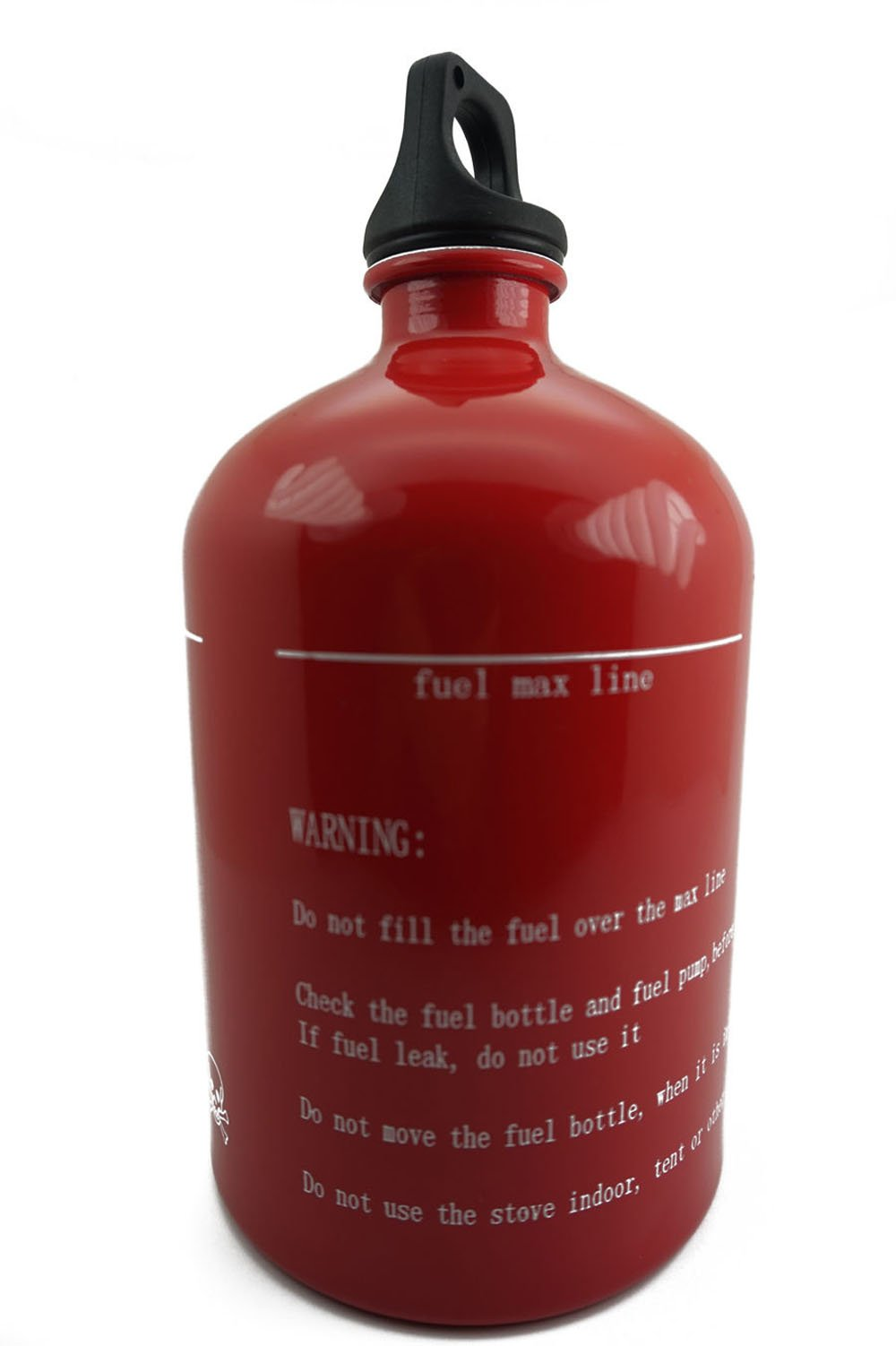 Safe Reserve GAS Fuel Aluminum Bottle Petrol Can Stove Fuel 30oz 1000ml