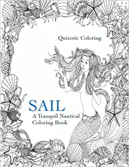 Sail (Left-Handed Edition): A Nautical Coloring Book for Southpaws