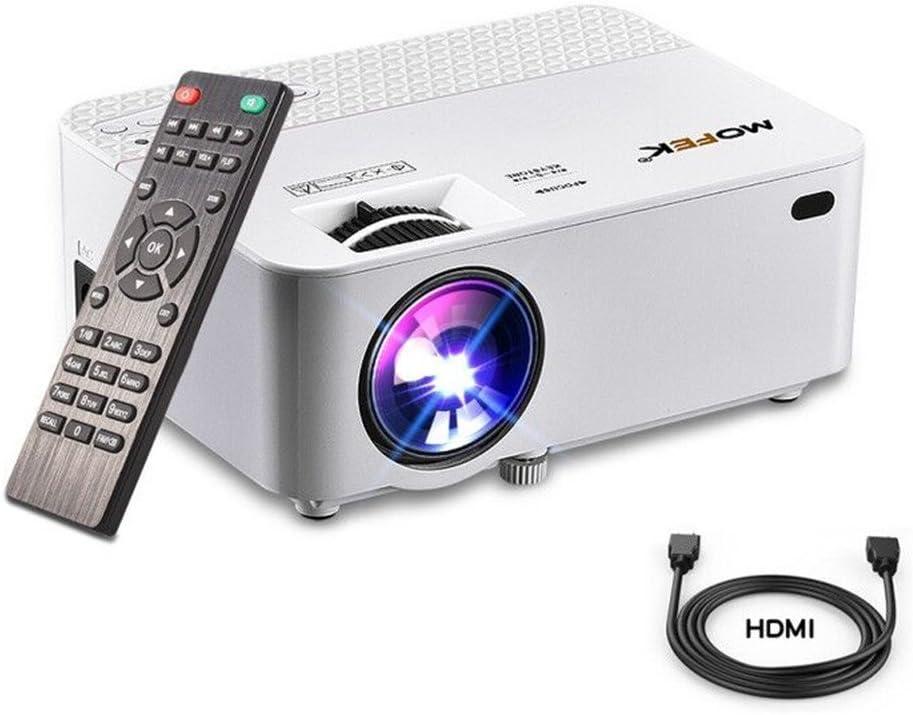 Proyector de vídeo, Mofek 1800 lúmenes. Mini proyector portátil ...