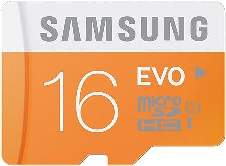 Samsung Memory 16gb Evo Microsdhc Uhs I Grade 1 Class Computers Accessories