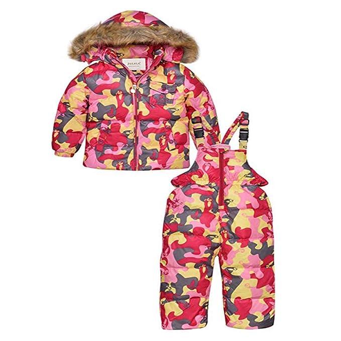 YZ-HODC Niñas traje de nieve de invierno, los más nuevos ...