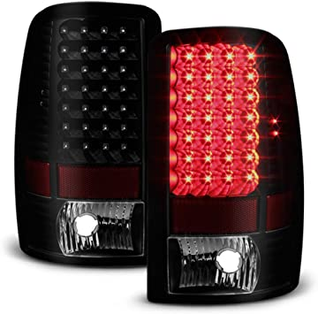 00-06 SUBURBAN TAHOE YUKON XL DENALI LED TAIL BRAKE LIGHT SMOKE LS LT SL SLE SLT