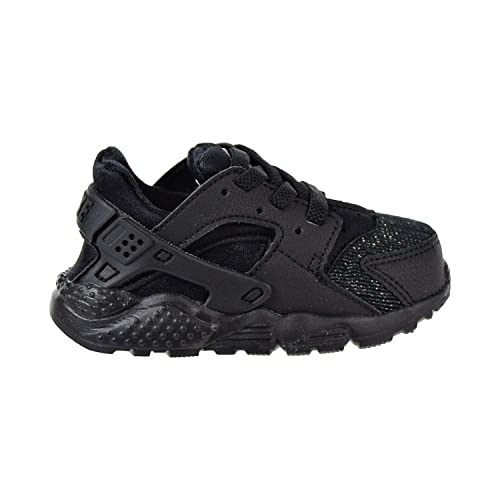 b4eca44ea46ab Amazon.com | NIKE Huarache Run SE Toddler's Shoes Black/Black 859592 ...