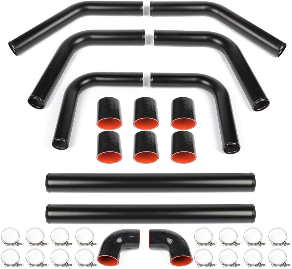 Turbo Intercooler Pipe Kit Fit for 1990-1991 for Lexus ES250 2.5L 1992-2003 for Lexus ES300 3.0L 2004-2006 for Lexus ES330 3.3L 2007-2011 for Lexus ES350 3.5L 1993-2006 for Lexus GS300 3.0L