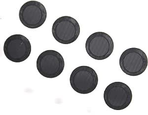 Replacement Headphone Filters Earbuds for Powerbeats Wireless Headphones Earphones (2 Pair) (4 Pair, Black)