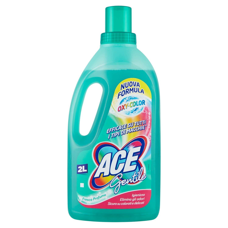 ACE – Lejía para ropa de color, delicada – 2000 ml.: Amazon.es ...