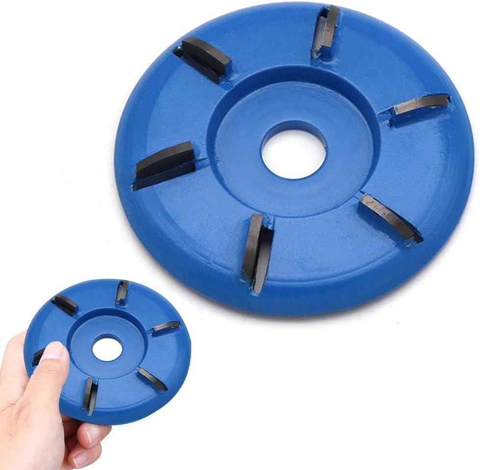 Hexagonal Shovel Grinder Tool Carving Disc for Angle Grinder hemistin 6 Teeth Wood Cutting Blade Tool