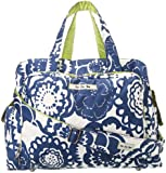 Ju-Ju-Be Be Prepared Diaper Bag, Cobalt Blossoms