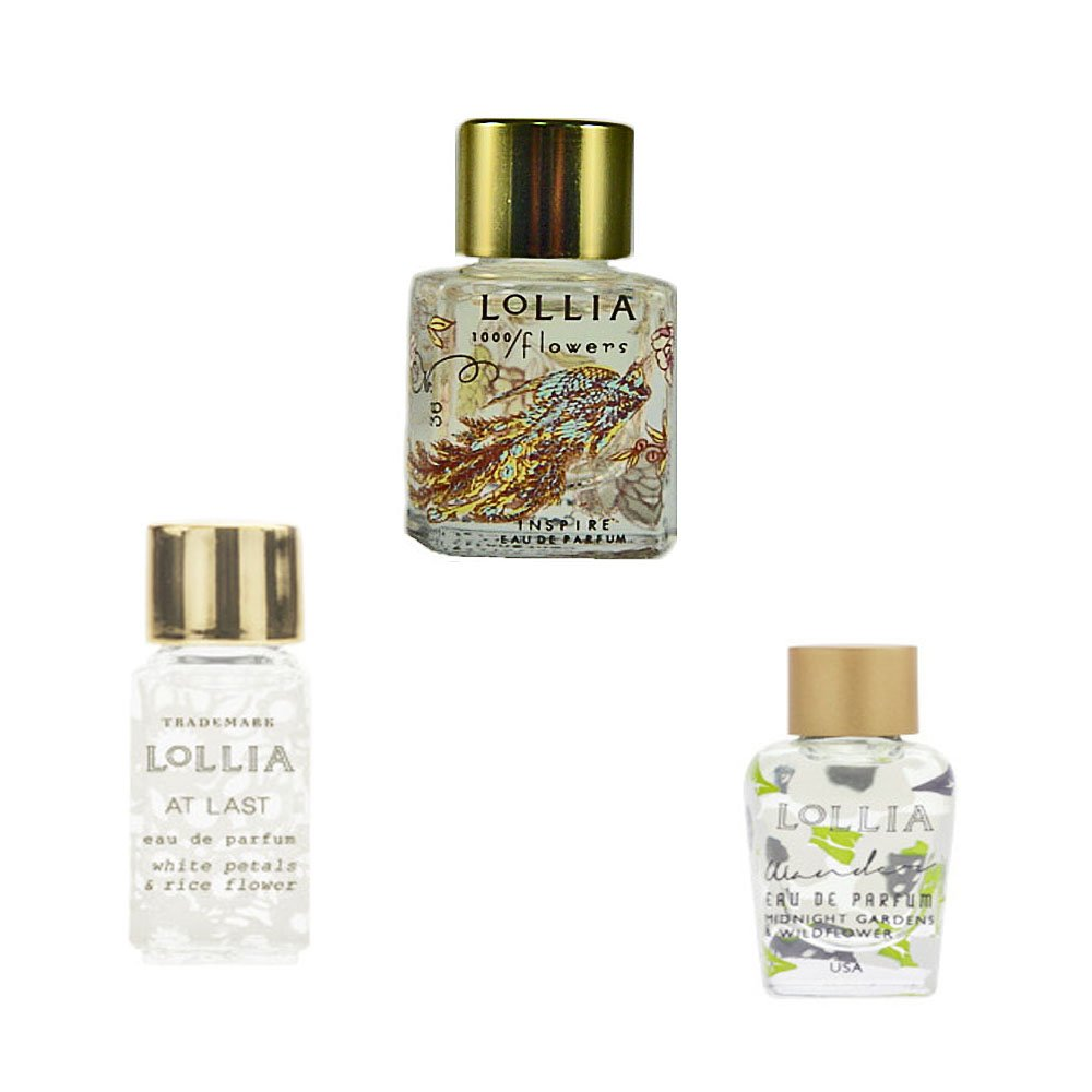 Amazon lollia little luxe trio 1 eau de parfums inspire at amazon lollia little luxe trio 1 eau de parfums inspire at last and wander fragrances beauty izmirmasajfo