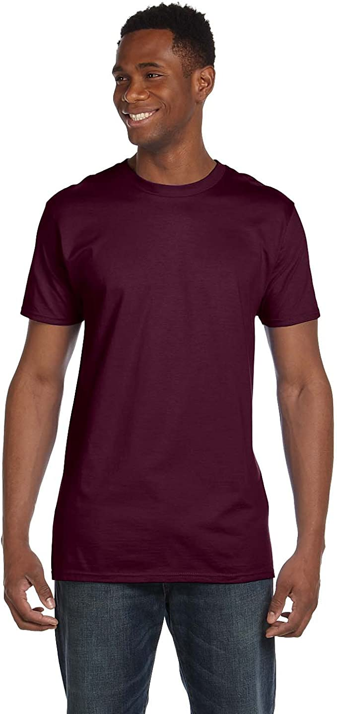 3 PACK Russell MEN/'S T-SHIRT SLIM FIT SOFT PREMIUM COTTON T-SHIRTS NEW MULTIPACK