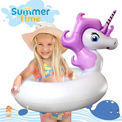 Amazon.com: Flotador de piscina Leeron Unicornio, flotador ...