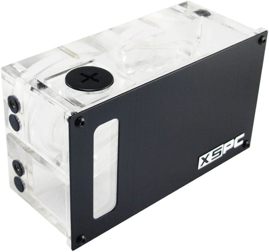 Pump Not Included XSPC Twin D5 Dual Bay Reservoir