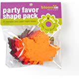 """Bloomin Seed Paper Shapes Packs - Maple Leaf Shapes - 25 Shapes Per Pack - 3x3"""" {Color Mix}"""
