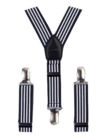 aed8a8809 Bretelles Fines Slim 2.5 CM Forme Y Solide Avec 3 clips Réglable ...