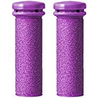 Emjoi Micro-Pedi Extreme Coarse Purple Flex Rollers, Set of 2
