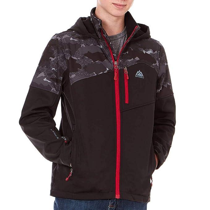 e801c8878 Snozu Hooded Softshell Jacket For Boys