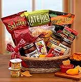 Gourmet Gift Basket A Little Spice Gourmet Salsa & Chips Gift Basket