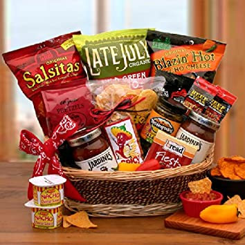 Amazon Spice Up Your Life Salsa And Chips Gift Basket