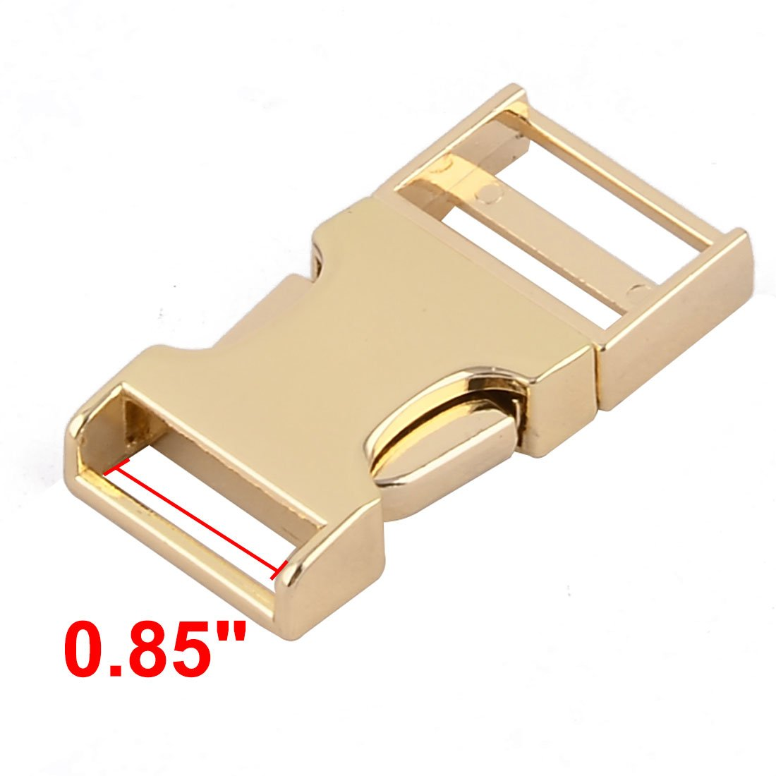 sourcingmap/® 2St/ück Handtaschenbeutel Metallgewebe Verbinden Tri Glide G/ürtelschnalle Fastener de
