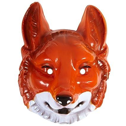 Zorro Máscara Máscara zorro rojo zorro Animales Máscara Máscara Fox Carnaval Máscara Animales cuento Animales Disfraz