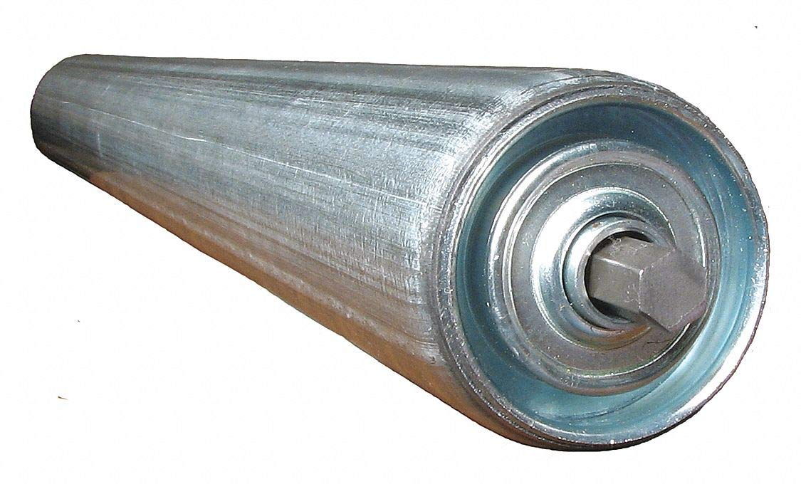 Galv Replacement Roller, 2-1/2InDia, 33BF by Ashland Conveyor (Image #1)