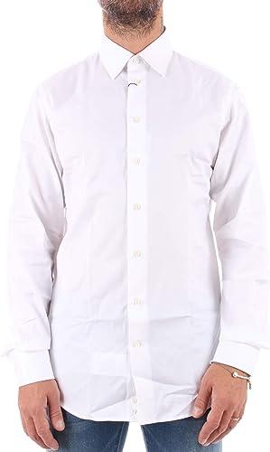 Emporio Armani Camisa Hombre Bianco: Amazon.es: Ropa y accesorios