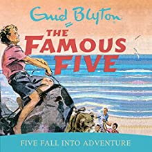 Famous Five: Five Fall Into Adventure: Book 9 Audiobook by Enid Blyton Narrated by Jan Francis
