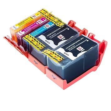 5 cartuchos de tinta compatibles con sustituir la 934 XL ...