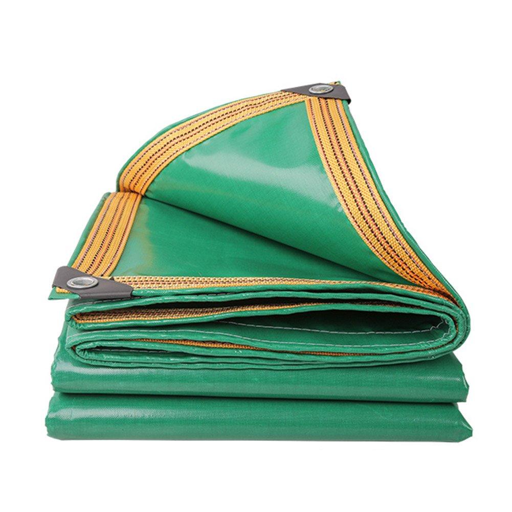 グリーンカラーPVCプラス厚いレインクロス防水日保護8種類のサイズは倉庫に使用することができます建設工場工場と企業湾岸埠頭 防水および防湿 (サイズ さいず : 4 x 5m) B07FD2ZVHY 4 x 5m  4 x 5m