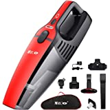 Handheld Vacuum Cordless, MECO Wet Dry Hand Vacuum Cleaner 800ml Dust Box Two Speeds Adjustable, Dual Filter, Portable Rechargeable Dust Busters Home Pet Hair Car Cleaning Included Carrying Bag