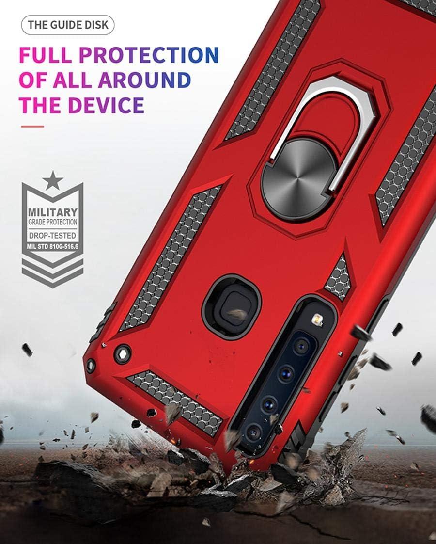 Support incassable pour Samsung Galaxy A9 Pinjun Coque de Protection Ultra r/ésistante aux Chocs pour Samsung Galaxy A9 2018 2018 - Rotation /à 360/°