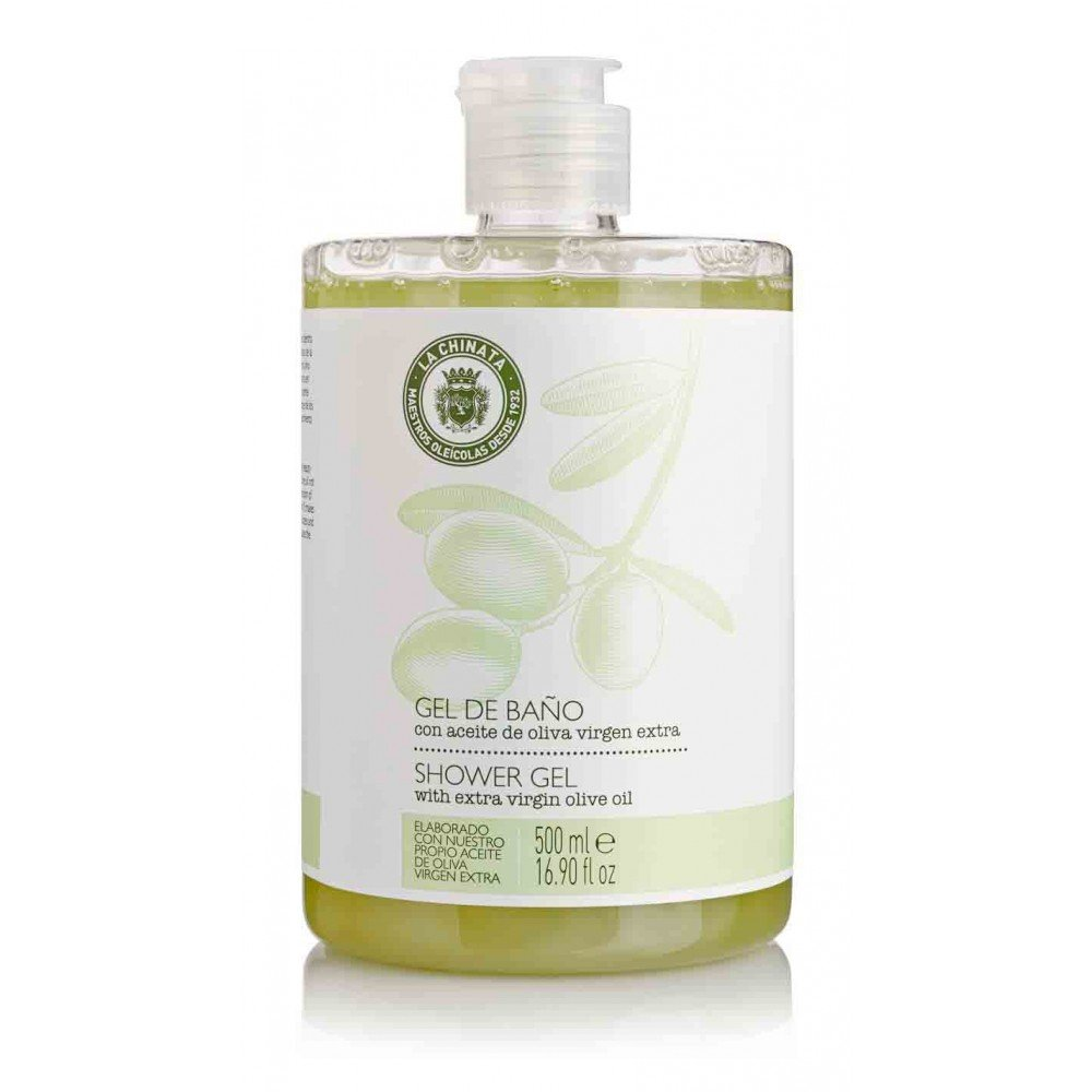 Olive oil Bath and shower gel 500ml La chinata 8421401334211