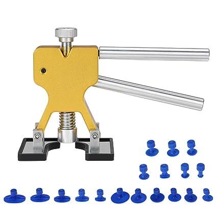 DEDC Kit de Herramientas para Reparación de Abolladuras de Coche ...