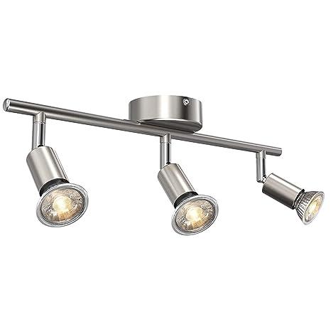 Uchrolls Foco LED para techo I 3 vías lamparas de techo led ...
